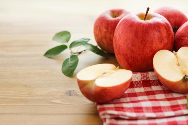 複数のりんご