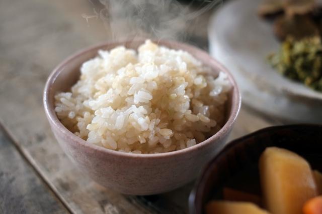 準備食による玄米の画像