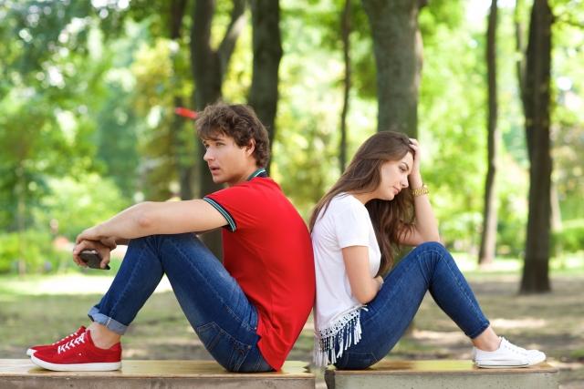 愛情の価値観が違うカップルの画像