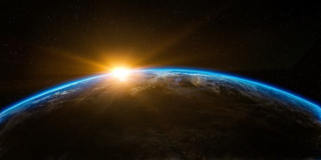 地球の表面の画像