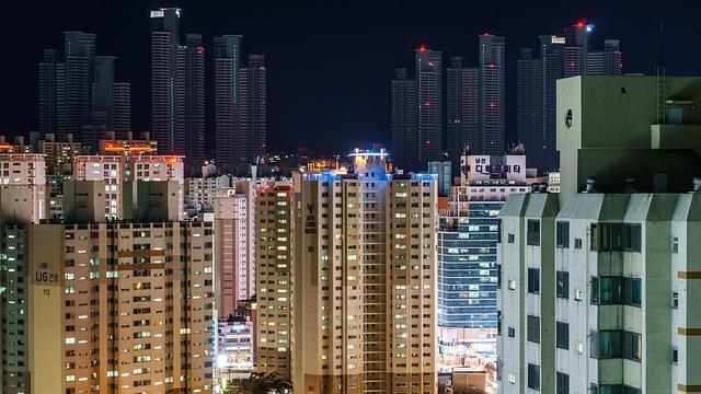 高層マンションの画像