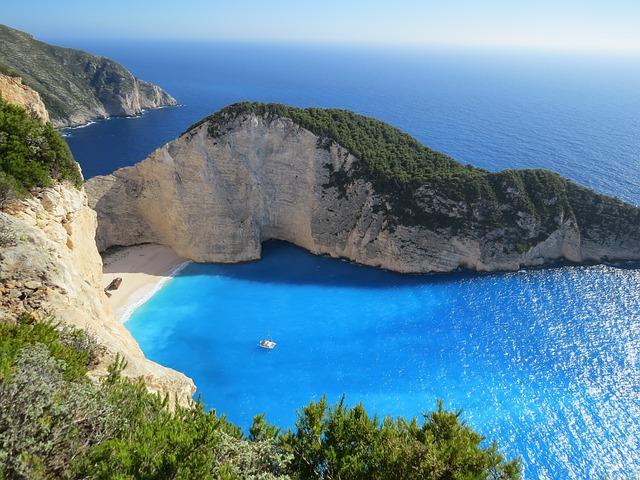 キレイな島の画像