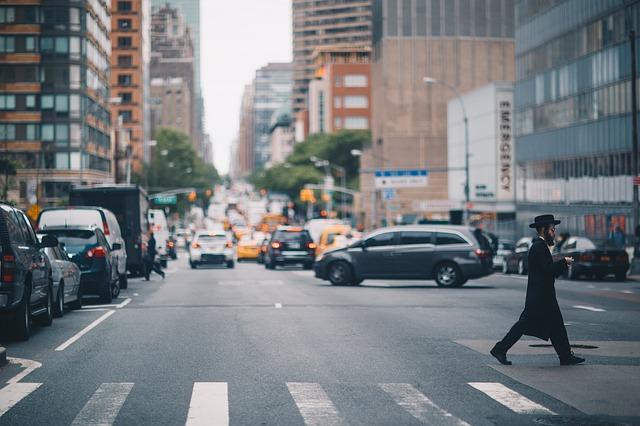 ニューヨークの道路の画像