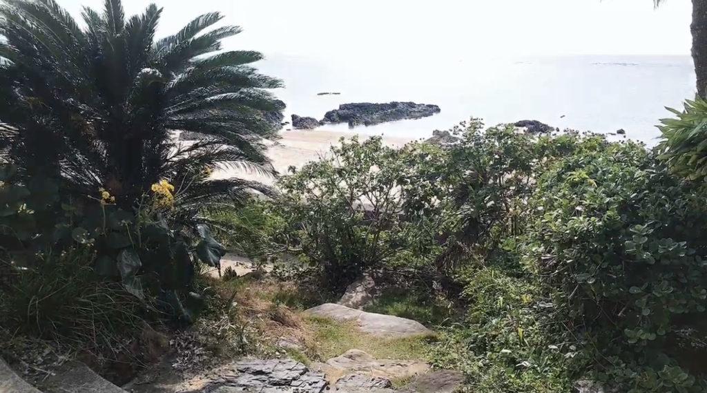 笠利町の海の写真