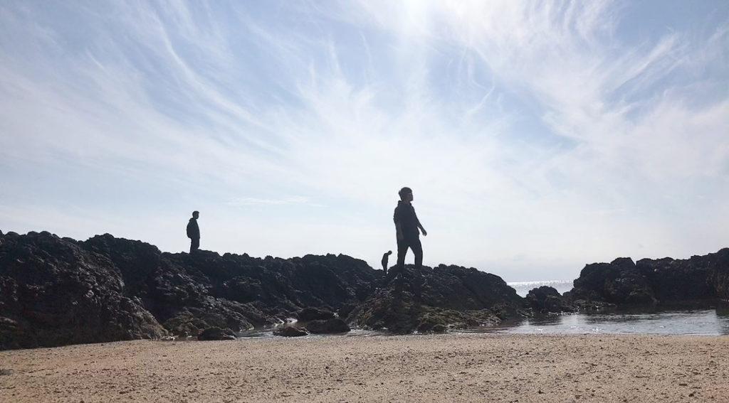笠利町にある海の写真