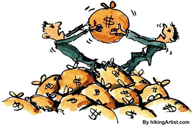 お金でトラブルが起こっている人たちのイメージ画像