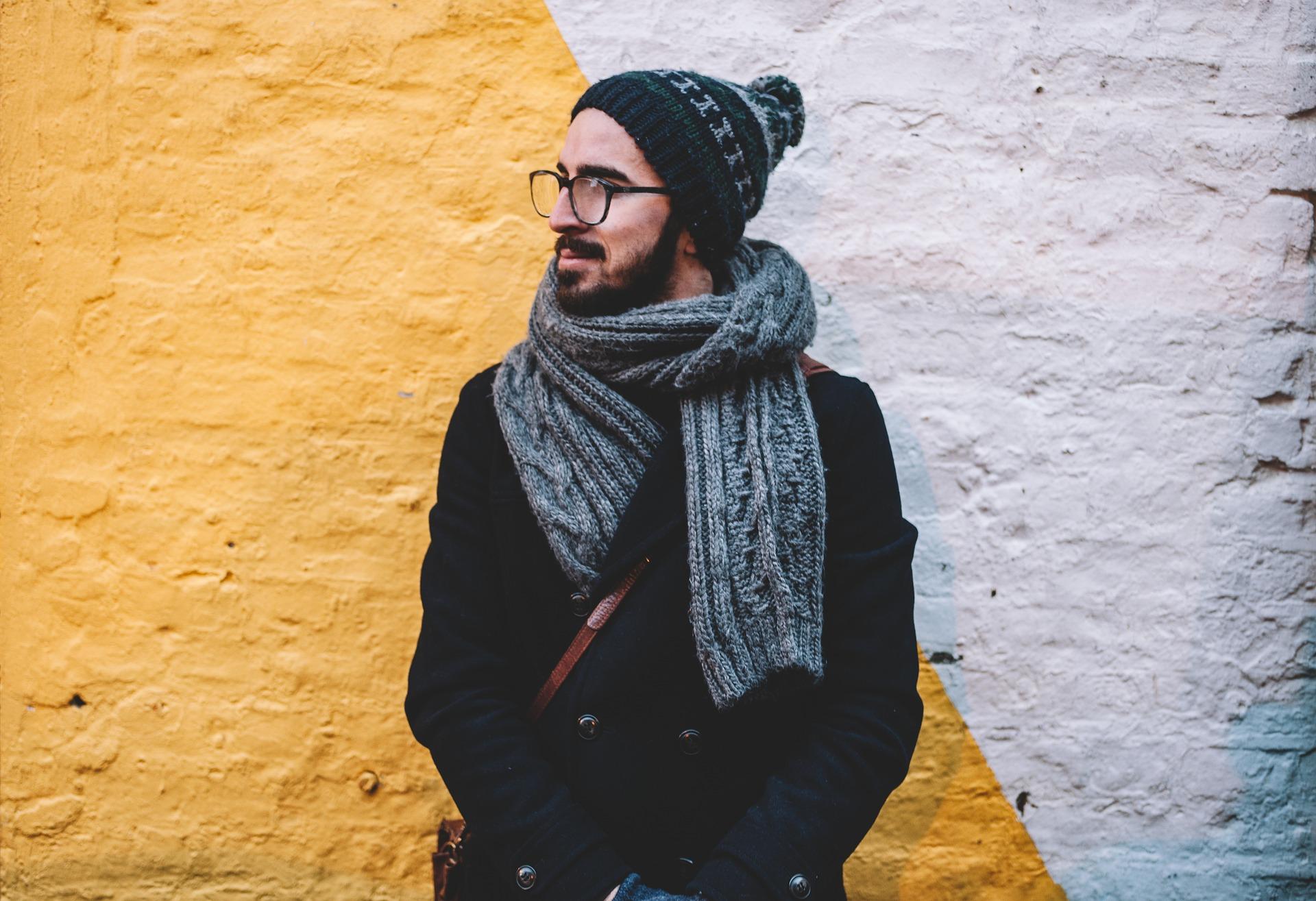 独身男の外国人男性の画像